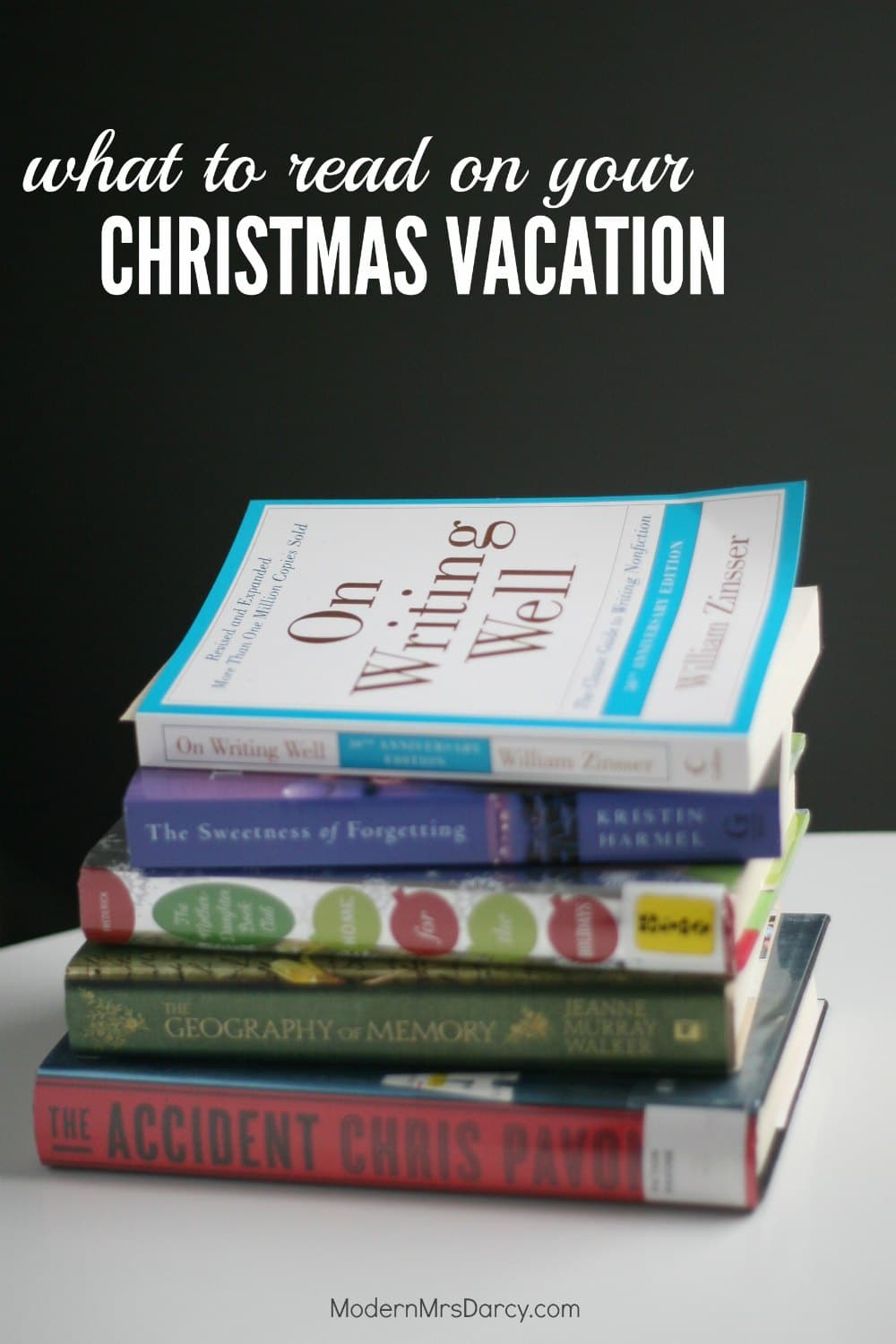 Whether you want a fast-paced thriller, a contemplative memoir, or a relatable novel, this list has great books to read on your Christmas vacation.