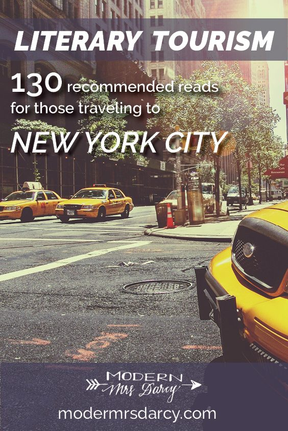130 recommended reads for those traveling to New York City