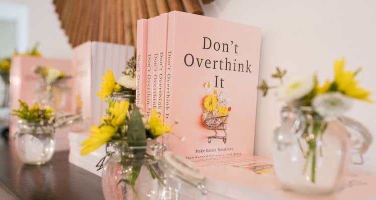 Behind the scenes of the Don't Overthink It writing process